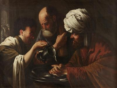 Pilate Washing His Hands, C.1615-1628