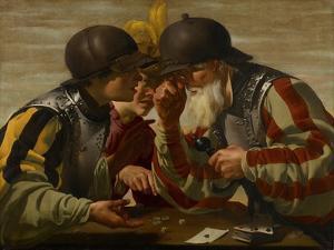 The Gamblers, 1623 by Hendrick Ter Brugghen