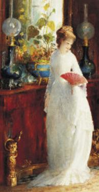 An Invitation to the Opera by Hendricus Jacobus Burghers