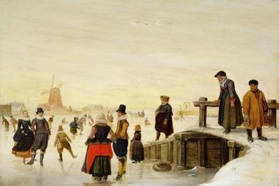 Figures Skating in a Dutch Landscape, C.1625