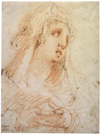 A Young Woman' (Mary Magdalene), Late 16th or Early 17th Century
