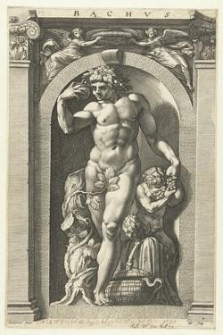 Bacchus, 1592 by Hendrik Goltzius
