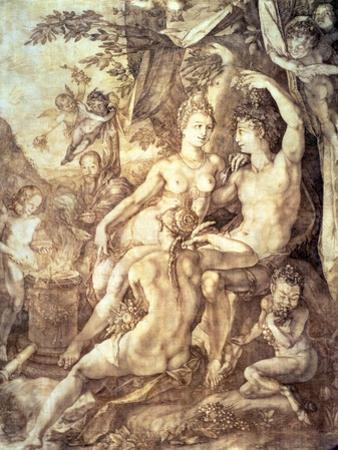 Bacchus, Venus and Ceres, circa 1606