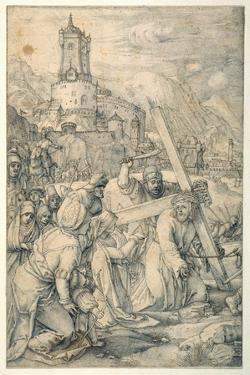 Christ Carrying the Cross by Hendrik Goltzius