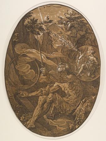 Demogorgon in the Cave of Eternity, C. 1588