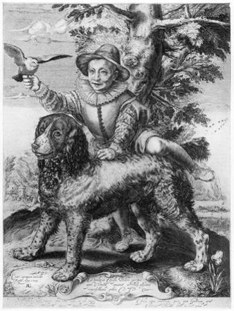 Goltzius's Engraving of the Son of His Friend, Theodore Frisius, Rome, 1599
