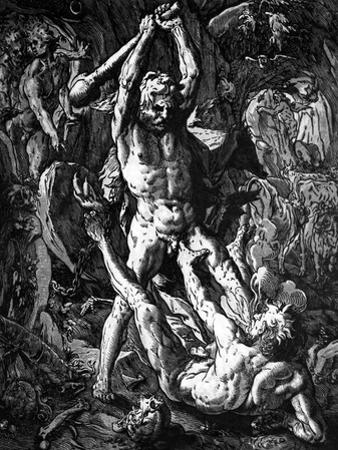 Hercules and Cacus, 1588