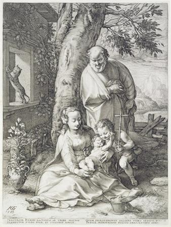 The Holy Family with St. John, 1593