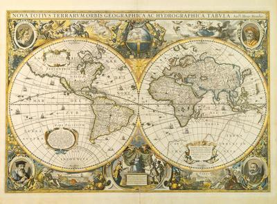 Nova Totius Terrarum Orbis Geographica ac Hydrographica Tabula, c1641