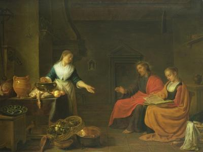Christ in the House of Martha and Mary, 1645