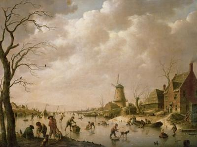Skaters on a Frozen Canal, 1779