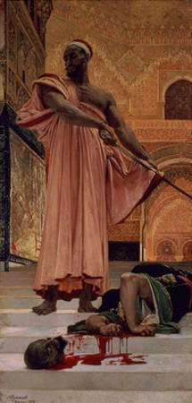 Execution Without Trial under the Moorish Kings in Granada, 1870 by Henri Alexandre Georges Regnault