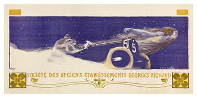 Georges Richard Automobile Poster