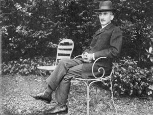 Henri Bergson, French Philosopher, 1910