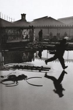 Derriere la Gare Saint-Lazare, Paris by Henri Cartier-Bresson