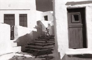 Sifnos, Grece by Henri Cartier-Bresson