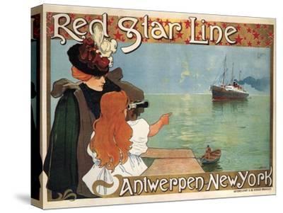 Red Star Line, 1899 by Henri Cassiers