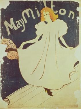 09:May Milton, France, 1895 by Henri de Toulouse-Lautrec