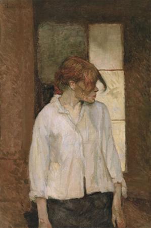 """""""A Montrouge"""" - Rosa la Rouge, 1886-1887 by Henri de Toulouse-Lautrec"""