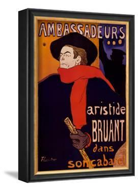 Ambassadeurs by Henri de Toulouse-Lautrec