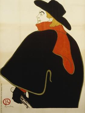 Aristide Bruant Dans Son Cabaret, 1893 by Henri de Toulouse-Lautrec