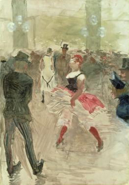 At the Elysee, Montmartre, 1888 by Henri de Toulouse-Lautrec
