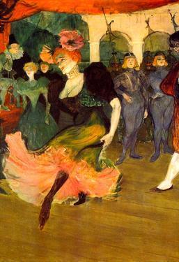 Henri de Toulouse-Lautrec Chilperic Art Print Poster