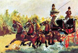 Henri de Toulouse-Lautrec Count Alphonse Art Print Poster