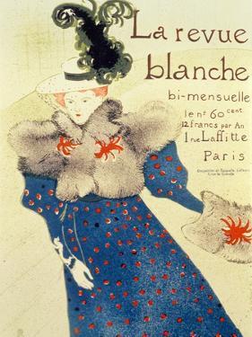 Cover of La Revue Blanche, 1895 by Henri de Toulouse-Lautrec