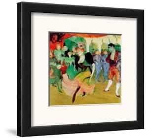 Dance At Moulin Rouge by Henri de Toulouse-Lautrec