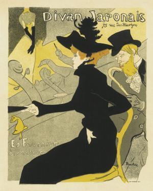 Divan Japonais Music Hall by Henri de Toulouse-Lautrec