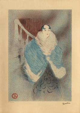 Elsa la Viennoise by Henri de Toulouse-Lautrec