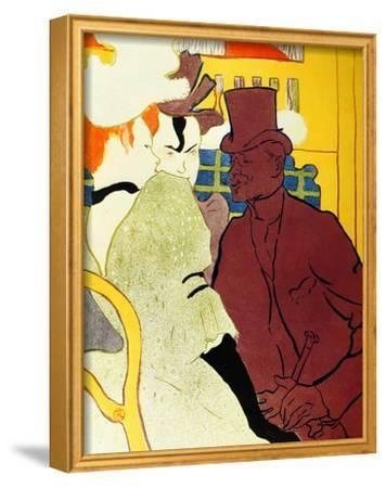 Englishman at Moulin Rouge by Henri de Toulouse-Lautrec