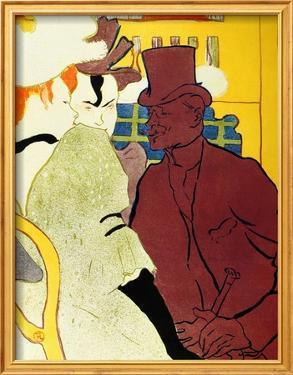 Englishman at Moulin Rouge by Henri de Toulouse-Lautrec