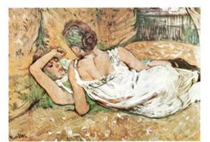 Friends by Henri de Toulouse-Lautrec