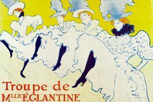 Henri de Toulouse-Lautrec La Troupe de Mlle Eglantine by Henri de Toulouse-Lautrec
