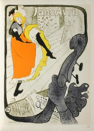 Jane Avril I by Henri de Toulouse-Lautrec