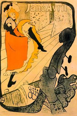 Henri de Toulouse-Lautrec Jane Avril
