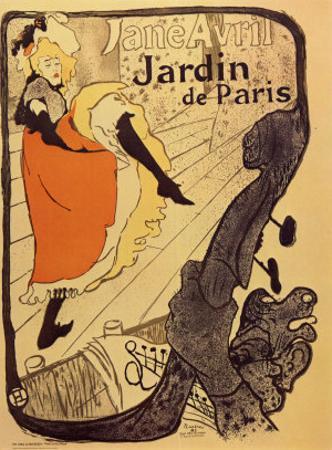 Jardin de Paris by Henri de Toulouse-Lautrec