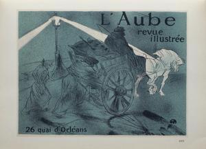 L'Aube by Henri de Toulouse-Lautrec