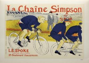La chaîne Simpson by Henri de Toulouse-Lautrec