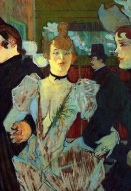 Henri de Toulouse-Lautrec La Goulue Entering the Moulin Rouge Art Print Poster