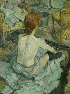 La Toilette, 1896 by Henri de Toulouse-Lautrec