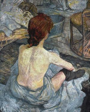 La Toilette by Henri de Toulouse-Lautrec