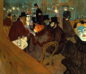 Lautrec: Moulin Rouge by Henri de Toulouse-Lautrec