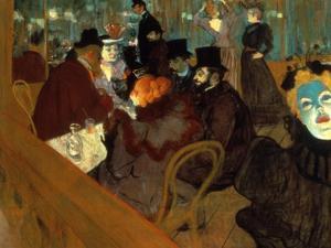 Lautrec: Moulin Rouge by Henri de Toulouse-Lautrec