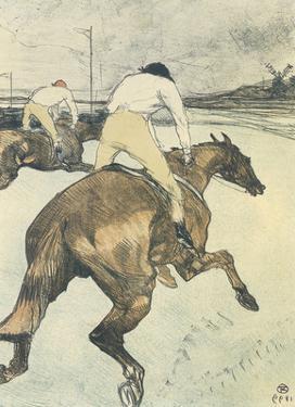 Le jockey by Henri de Toulouse-Lautrec