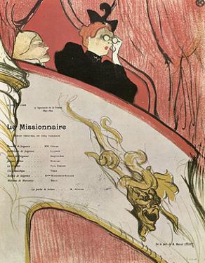 Le Missionaire, 1894 by Henri de Toulouse-Lautrec