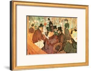 Le Moulin Rouge by Henri de Toulouse-Lautrec