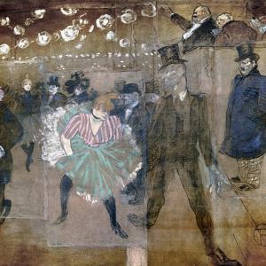 Louise Weber (1866-1929) by Henri de Toulouse-Lautrec